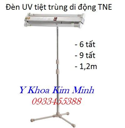 Đèn UV tiệt trùng gồm máng và bóng, chân di động nhãn hiệu TNE Thành Nhân - Y Khoa Kim Minh