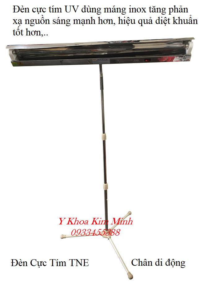 Đèn cực tím khử trùng UV TNE 6 tất, 9 tấn, 1m2 chân di động bán tại Tp Hồ Chí Minh - Y Khoa Kim Minh