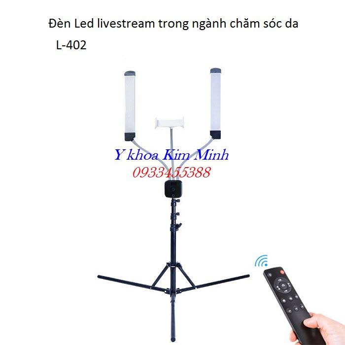 Đèn Led Livestream dùng cho spa, thẩm mỹ viện L-402 - Y khoa Kim Minh