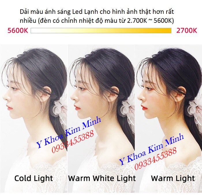 So sánh đèn livestream giá rẻ và đèn Livestream bóng Led ánh sáng lạnh cao cấp KM-88-II - Y Khoa Kim Minh