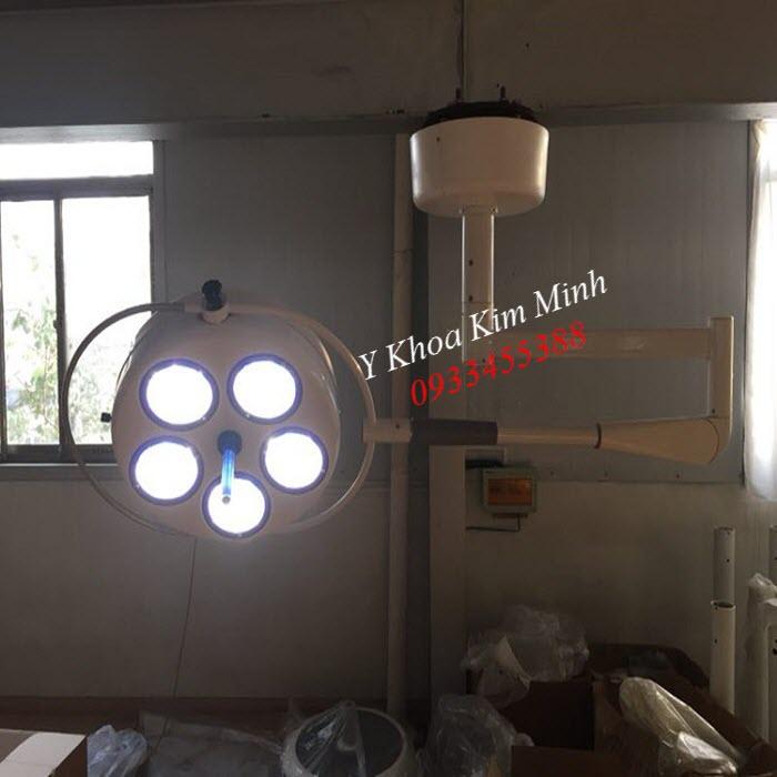 Den mo y te 1 nhanh 5 bóng anh sáng Led Lanh YD025 - Y khoa Kim Minh