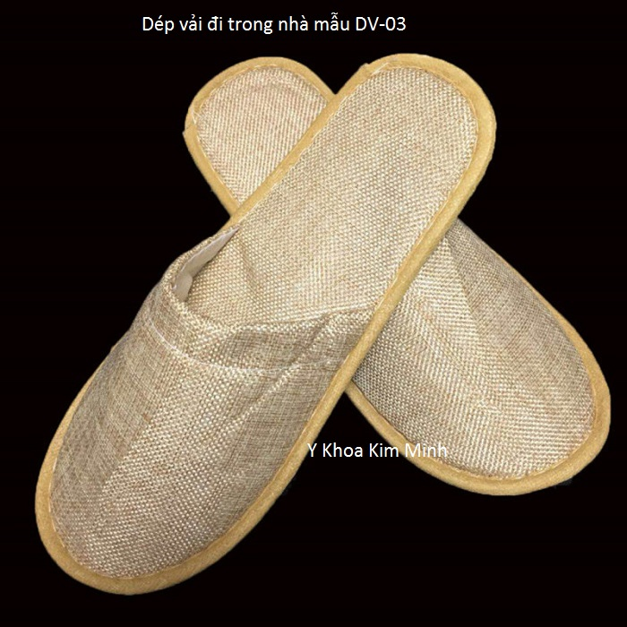 Dép vải mẫu DV-03 - Y Khoa Kim Minh