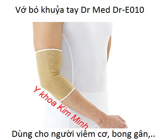 Đai bó chữa đau khuỷa tay nhập khẩu Hàn Quốc Dr.Med Dr-E010