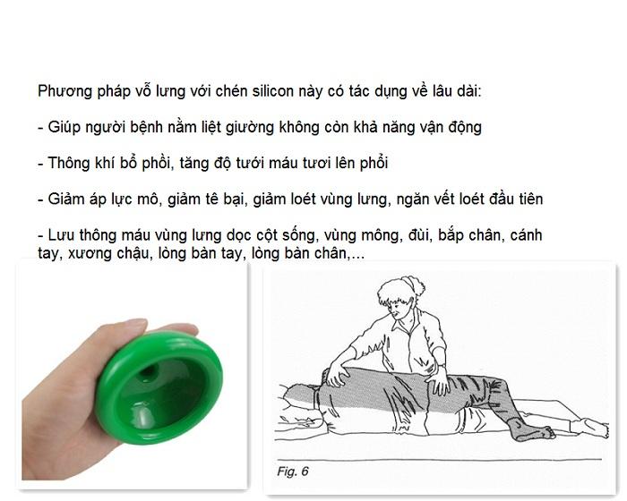 Dụng cụ phục hồi chức năng, chén massage lưng, dụng cụ hỗ trợ người tai biến - Y khoa Kim Minh