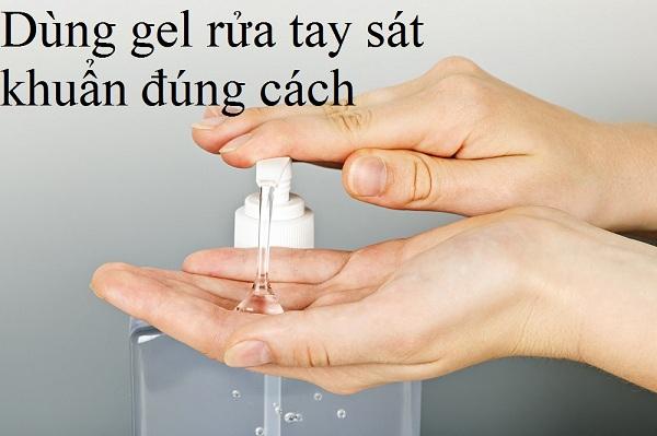 Hãy dùng gel rửa tay sát khuẩn nhanh đúng cách bảo vệ sức khoẻ của bạn tránh lây nhiễm virus Covid-19 - Y Khoa Kim Minh