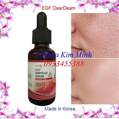 Tế bào gốc EGF Hàn Quốc chuyên lăn kim trị sẹo tái tạo da - Y khoa Kim Minh