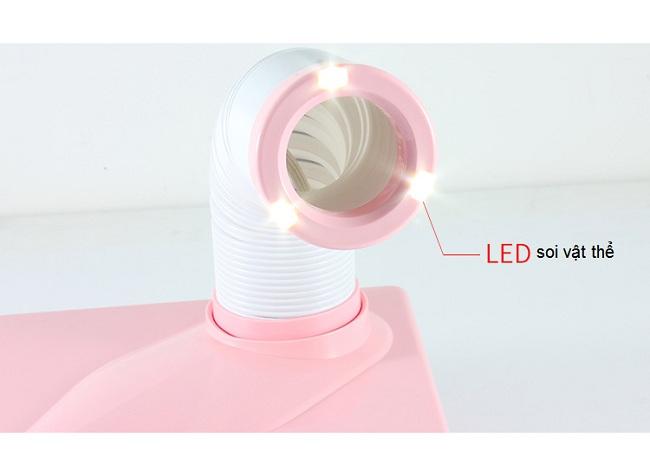 Máy hút khói khử mùi có đèn LED soi vật thể - Y khoa Kim Minh