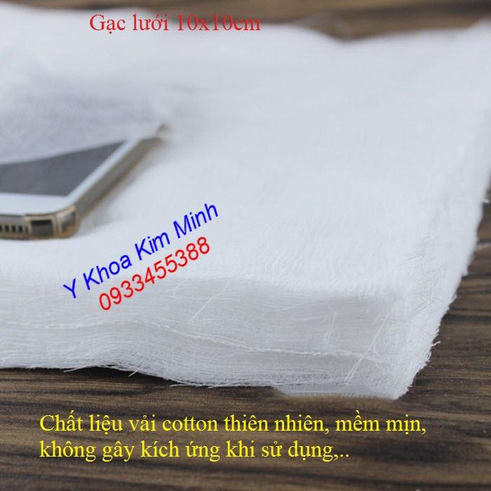 Gạc lưới dùng đắp bột mặt nạ bán tại Tp.HCM - Y Khoa Kim Minh