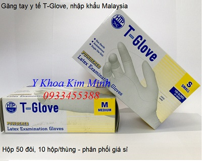 Dia chi ban gang tay Ma Lai, gang tay T Glove hop 50 doi - Y Khoa Kim Minh