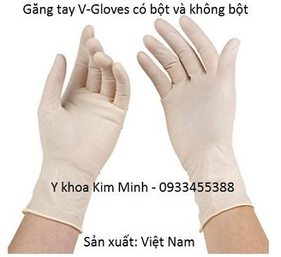 Gang tay V Gloves Viet Nam ban gia si tai dau tai Tp Ho Chi Minh - Y Khoa Kim Minh