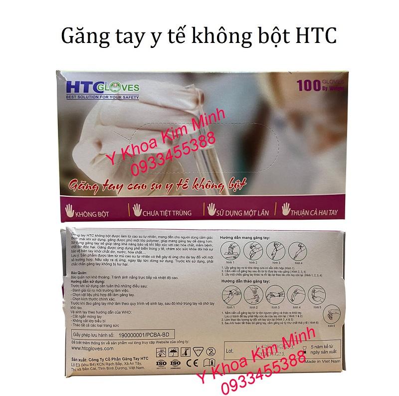 Đại lý bán găng tay HTC không bột giá sỉ