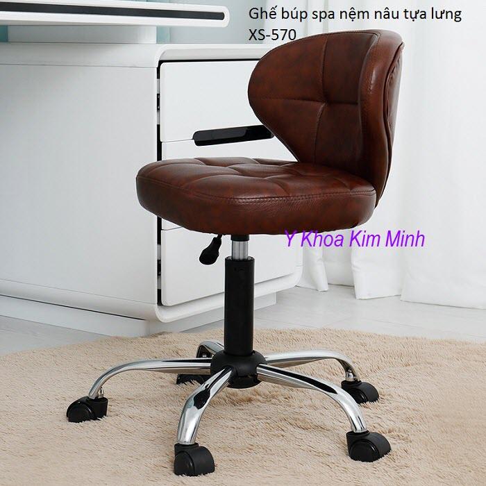 Ghe bup spa co tua lung nem nau cao cap XS-570 - Y khoa Kim Minh