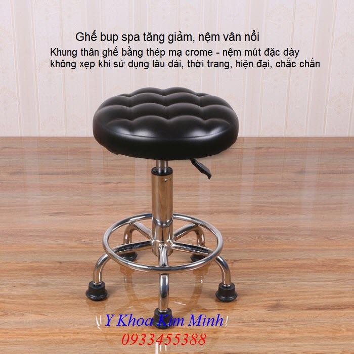 Ghế búp spa nhân viên ngồi, giường ghế massage bán tại Y Khoa Kim Minh