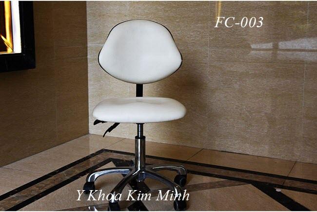 Ghế thẩm mỹ spa cho nhân viên ngồi làm việc FC-003 - Y Khoa Kim Minh