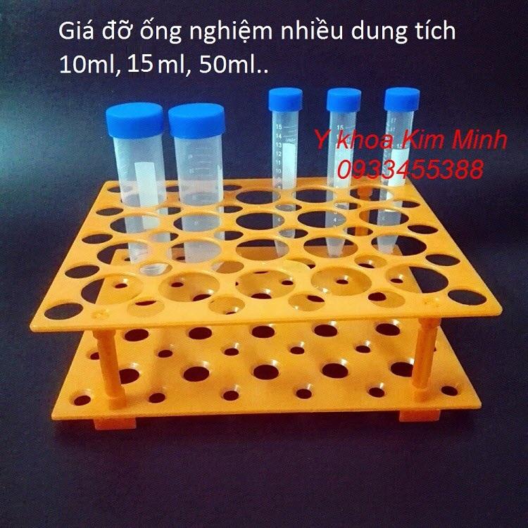 Giá đỡ ống nghiệm trong phẫu thuật thẩm mỹ nhiều size ml - Y khoa Kim Minh