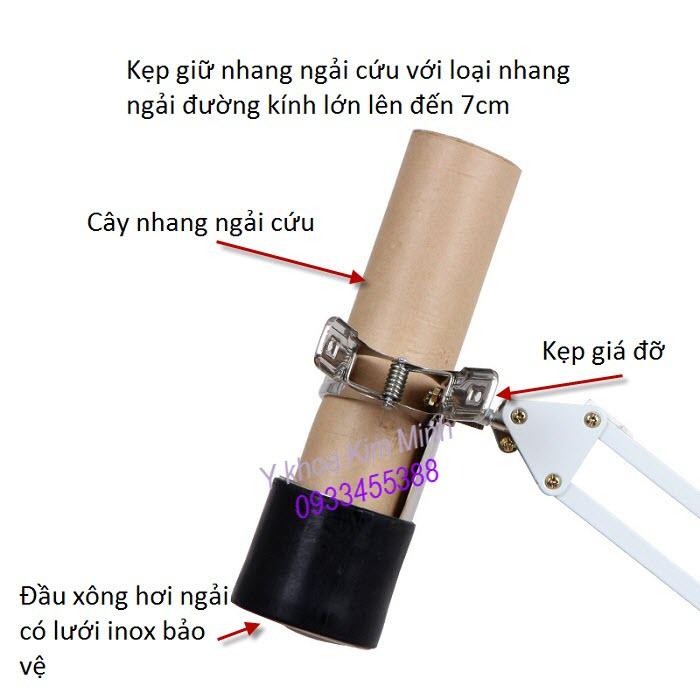 Giá đỡ cây nhang ngải cứu dùng cho đèn đốt ngải XL-76 - Y Khoa Kim Minh