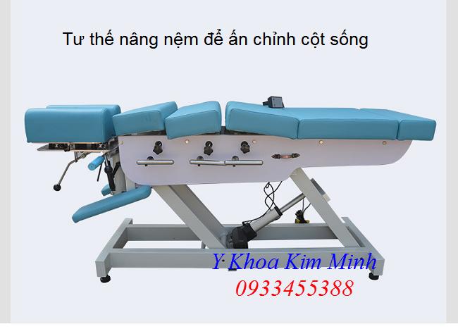 Noi ban thiet bi vat li tri lieu, giuong nan chinh cot song tai Tp Ho Chi Minh - Y khoa Kim Minh