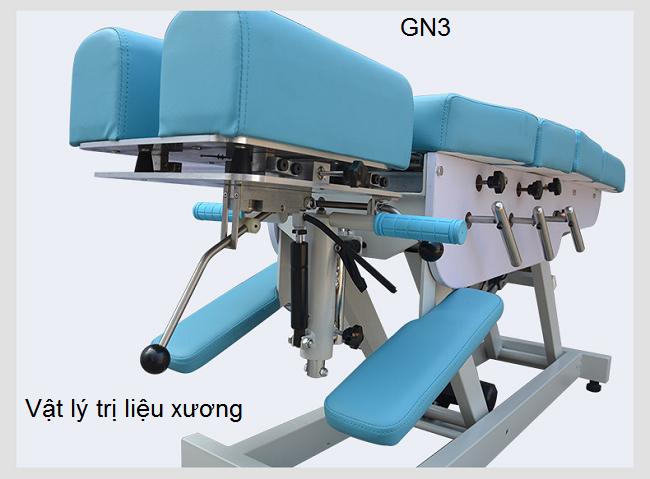 Giường điều trị cột sống, giường điều trị bệnh thần kinh tọa - Y khoa Kim Minh