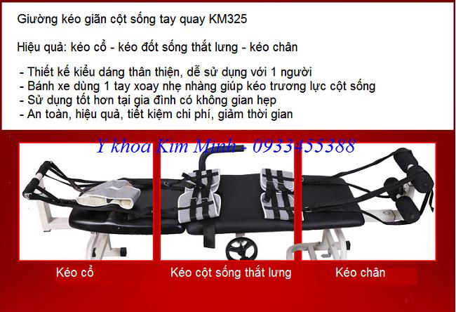 Tinh nang cong dung cua giuong keo gian cot song ban tai Y khoa Kim Minh - Y Khoa Kim Minh
