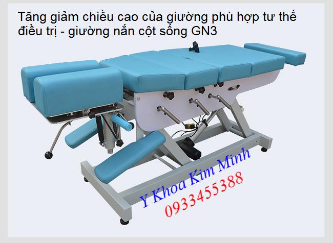 Giuong vat ly tri lieu dieu tri dau cot song - Y khoa Kim Minh