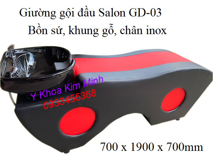 Giuong gội Salon GD-03 bán tại Y Khoa Kim Minh