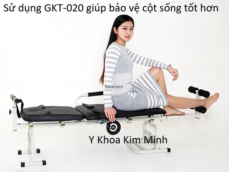 Giường kéo giãn cột sống, điều trị thoát vị đĩa đệm bán tại Tp.HCM - Y khoa Kim Minh