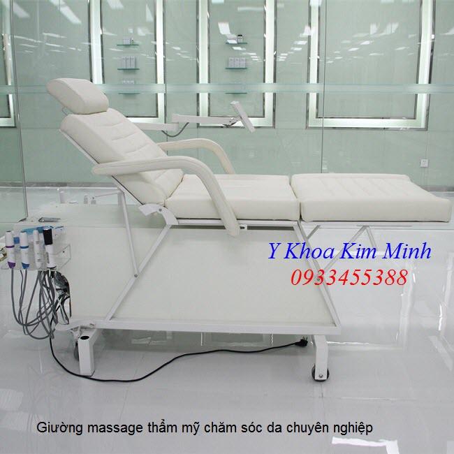 Giường massage cao cấp chuyên nghiệp kết hợp 10 chức năng điều trị - Y khoa Kim Minh 0933455388