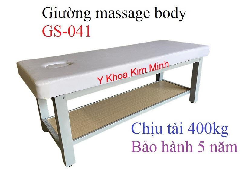 Giường masage GS-041 dùng cho dịch vụ xông hơi - Y Khoa Kim Minh