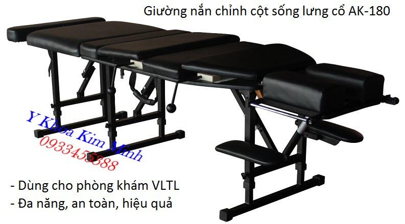Nhập khẩu, phân phối bán giá sỉ giường nắn chỉnh cột sống Chiropractic Cracks Bed tại Tp Ho Chi Minh - Y Khoa Kim Minh
