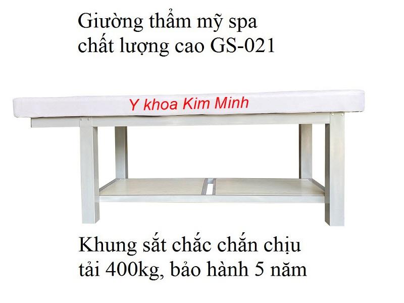 Giường spa chăm sóc da mặt GS-021 - Y Khoa Kim Minh