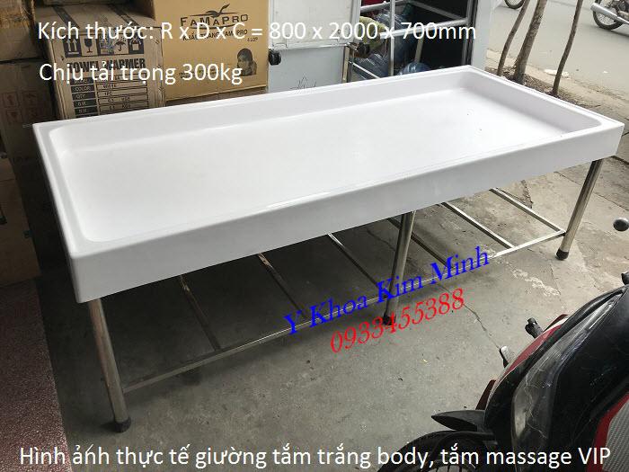 Giường tắm trắng body, giường massage VIP, sản xuất cung cấp giá sỉ tại Tp Hồ Chí Minh - Y Khoa Kim Minh