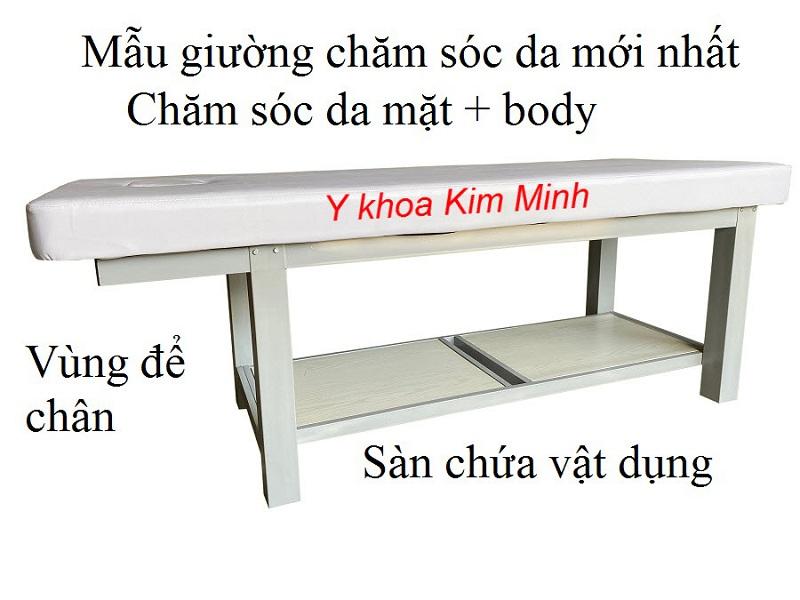 Giường thẩm mỹ khung sắt GS-021 bảo hành 5 năm bán tại Y Khoa Kim Minh