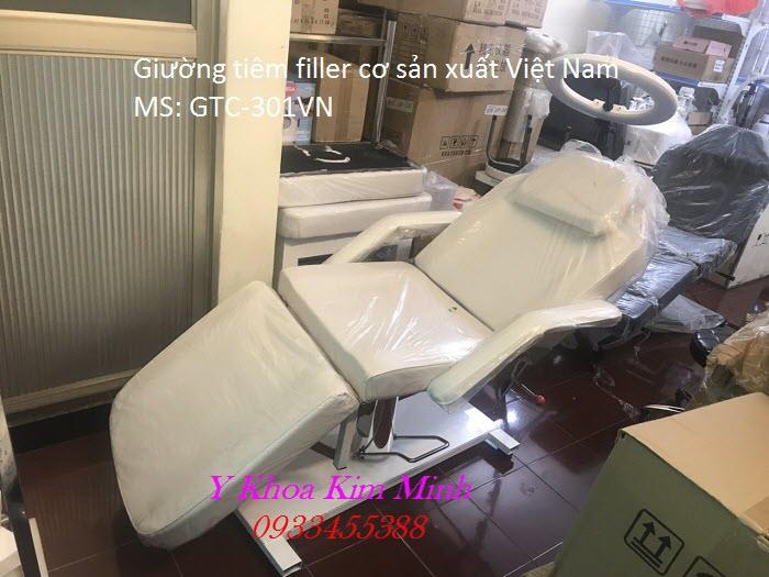 Ghế tiêm filler sản xuất tại Việt Nam giá rẻ GTC-301VN - Y Khoa Kim Minh