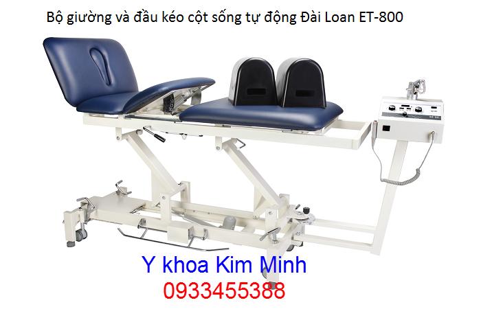Giuong va dau keo gian cot song tu dong Dai Loan ET-800 - Y khoa Kim Minh