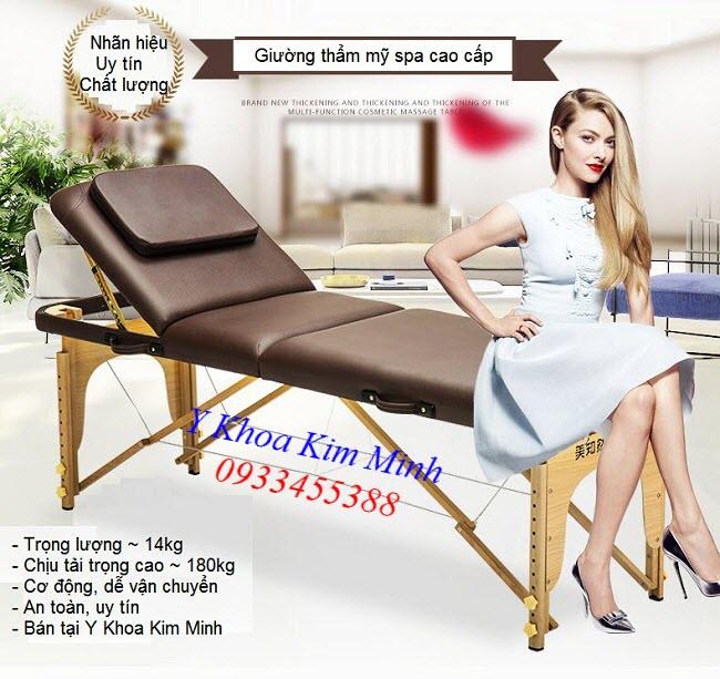 Giuong va li nang dau 3 khuc KW-320 - Y Khoa Kim Minh 0933455388