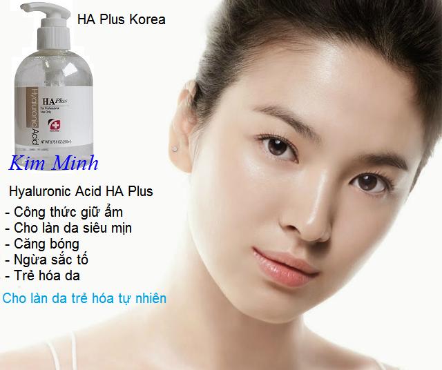 Serum HA Plus 300ml Hàn Quốc, công thức căng bóng,  siêu mịn làn da - Y Khoa Kim Minh