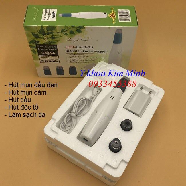 Lam sach da bang may hut mun mini ca nhan Han Quoc HD-8080 - Y Khoa Kim Minh 0933455388