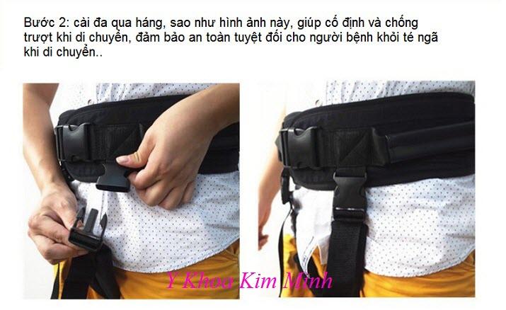 Hướng dẫn cách cài đai an toàn cho người bệnh khi di chuyển - Y Khoa Kim Minh