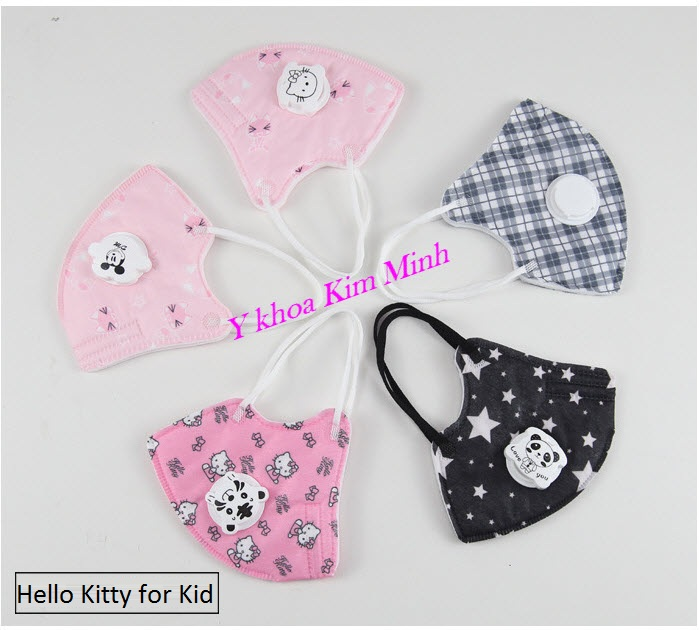 Hello Kitty Mask for Kids 4-12 years old - Y Khoa Kim Minh