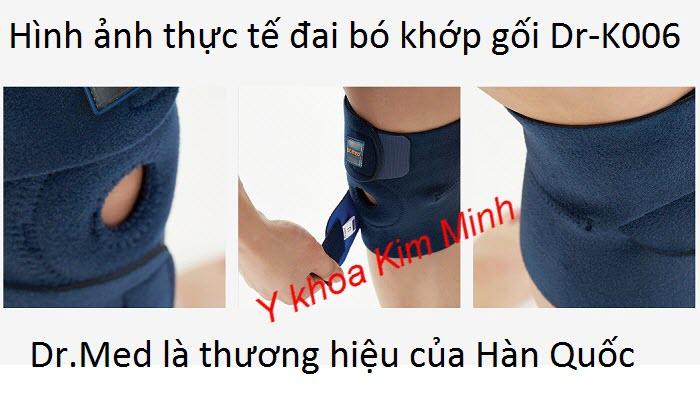 Hình ảnh của đai bó gối Dr-K006 của Hàn Quốc là sản phẩm chất lượng