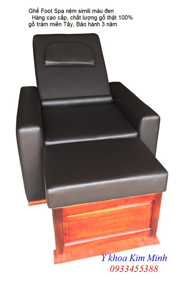 Bộ ghế Foot Spa cao cấp dùng gỗ tràm miền Tây sản xuất đang bán tại Y Khoa Kim Minh 0933455388