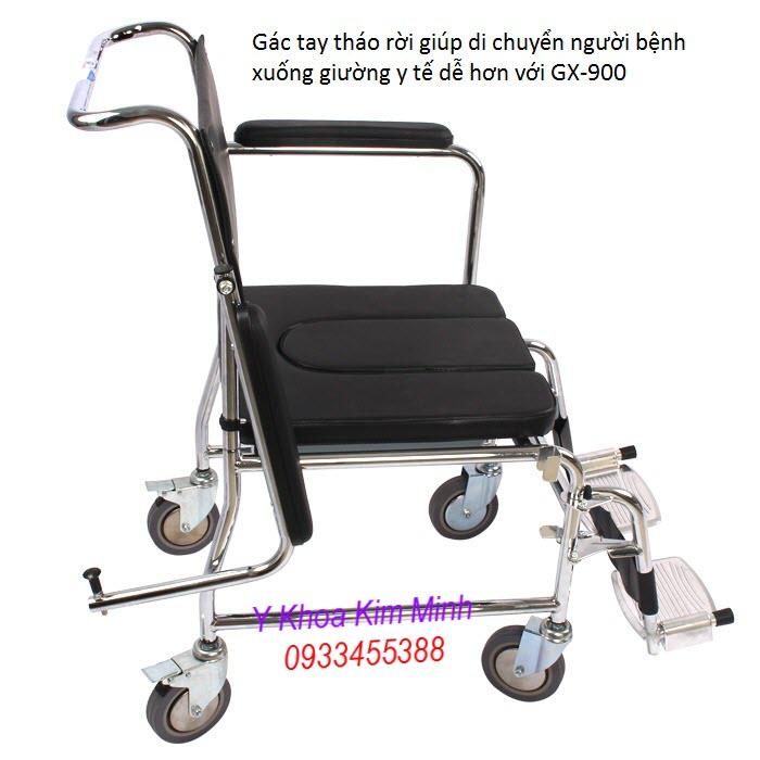 Hình ảnh ghế bô vệ sinh cao cấp Lucas GX-900 - Y Khoa Kim Minh