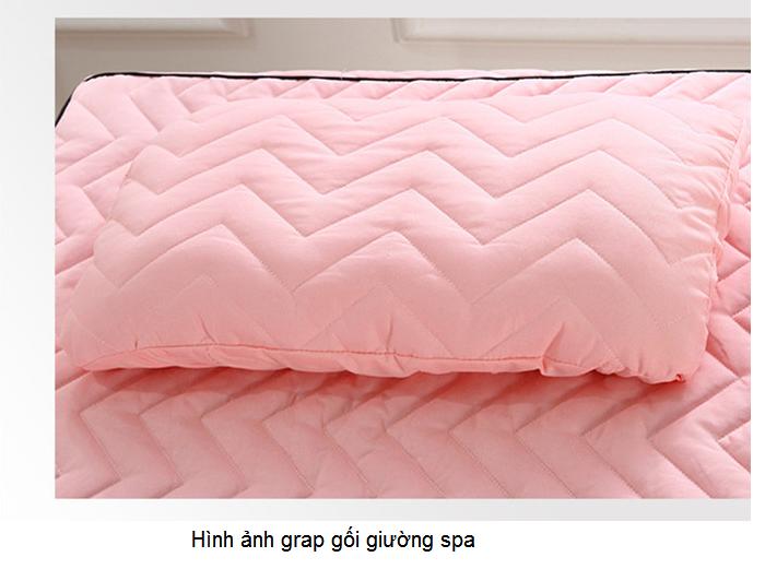 Hình ảnh grap gối giường massage spa - Y khoa Kim Minh