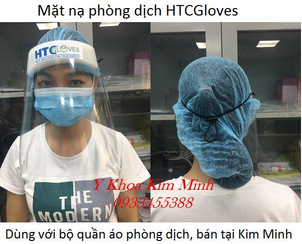 Mặt nạ phòng dịch sử dụng cho bác sĩ, y tá, nhân viên y tế phòng chống nhiễm virus - Y khoa Kim Minh