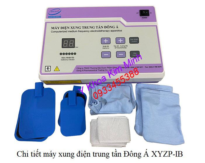 Máy trị liệu Trung Tần Đông Á dùng cho người tai biến, liệt cơ, liệt thần kinh, đau khớp, đau cột sống - Y Khoa Kim Minh