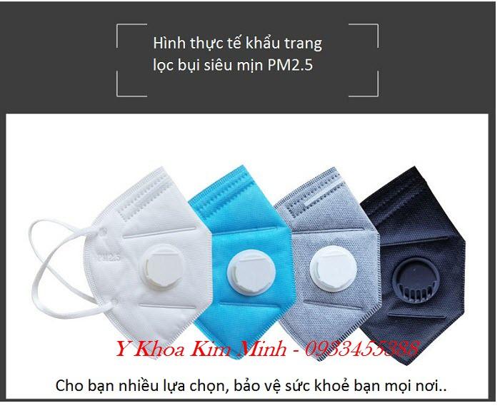 Hình ảnh khẩu trang y tế 6 lớp lọc bụi siêu mịn PM2.5 bán tại Tp Hồ Chí Minh - Y Khoa Kim Minh