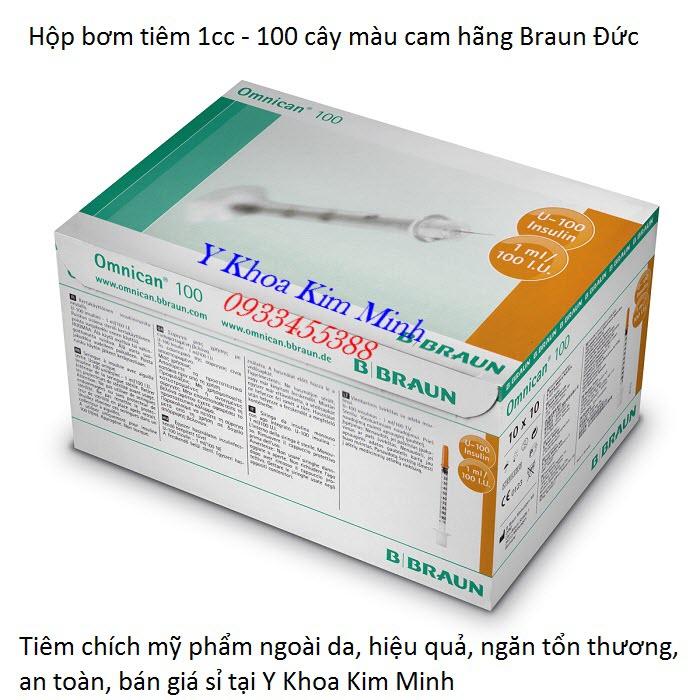 Noi ban hop bim tiem 1cc dung tiem duong chat my pham Brau cua Duc - Y khoa Kim Minh