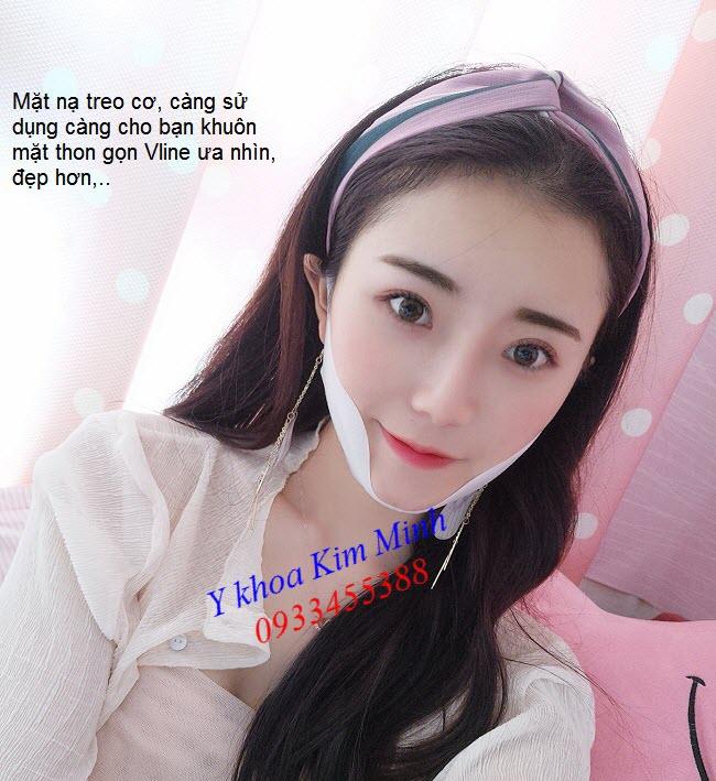 Hướng dẫn sử dụng mặt nạ treo cơ tạo khuôn mặt Vline - Y khoa Kim Minh 0933455388