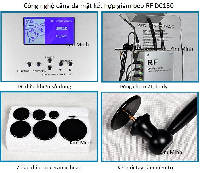 Hướng dẫn sử dụng máy căng da mặt vi điểm RF DC-150 - Y khoa Kim Minh