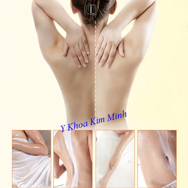 Cách dùng sữa non Thái Lan dùng trong bộ tắm trắng tại Spa cho khách hàng - Y khoa Kim Minh